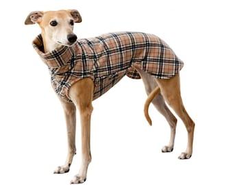 Whippet sweater Polar Fleece with closure, bulkhead check various designs, 3 sizes