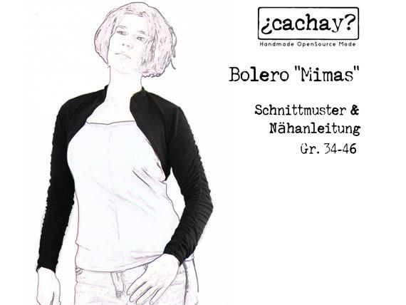 eBook Schnittmuster Bolero Mimas PDF | Etsy