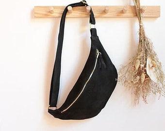 """Belly bag """"Bea"""" // Black"""