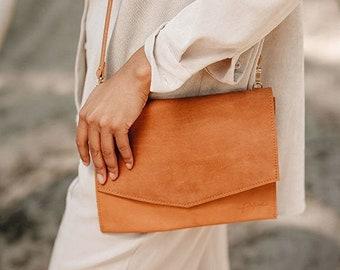 "Eco Leather Bag ""Mira"" / Cognac"