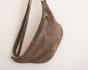 """Belly bag """"Bea"""" // Taupe"""