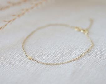 "Gold-plated bracelet ""Maeve"" #1"
