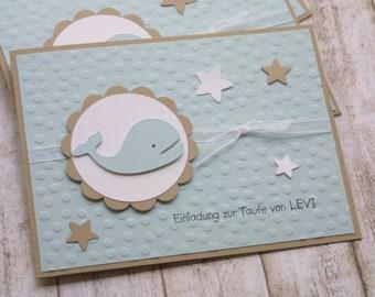Einladung Taufe Elefant Taufeinladung Blau Grau Etsy