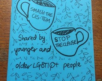 Trailblazing Stories: West Yorkshire Queer Stories zine
