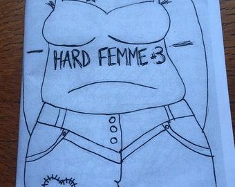 Hard Femme zine #3 (a perzine)