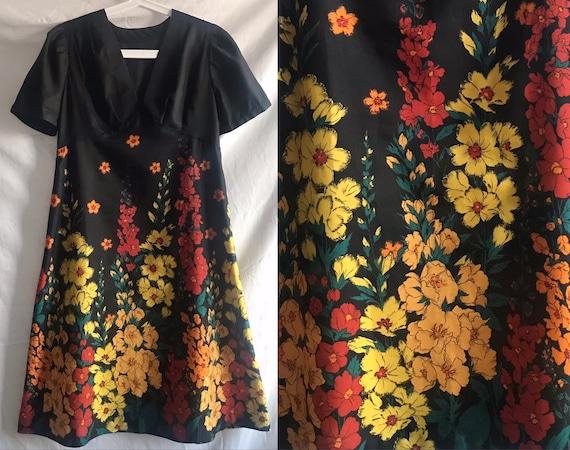 Vintage Handmade Silk Dress