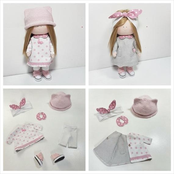 Muñeca De Trapo Con Ropa Doll Kit De Vestir Puede Peinar Regalo Para Niña Un Regalo Para Una Chica