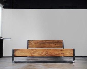 Lumber Bed Verdon Iron Feet