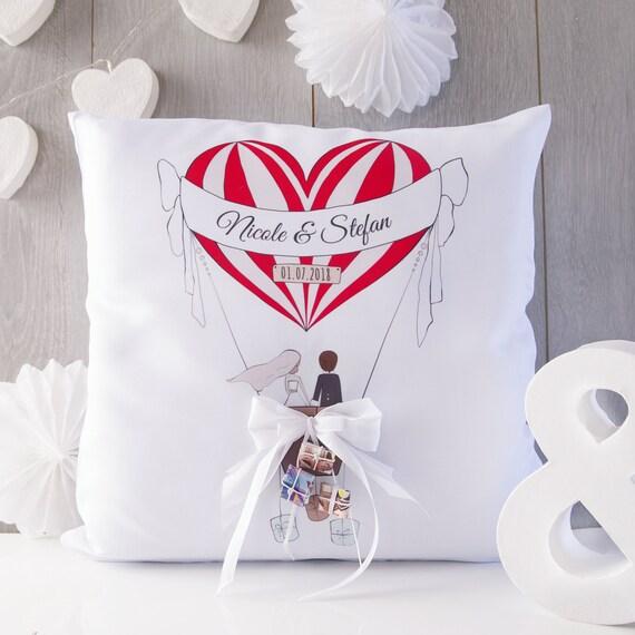 Hochzeitsgeschenk Geldgeschenk Kissen Zur Hochzeit Etsy