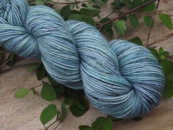 MEERMAID Hand dyed wool with bamboo