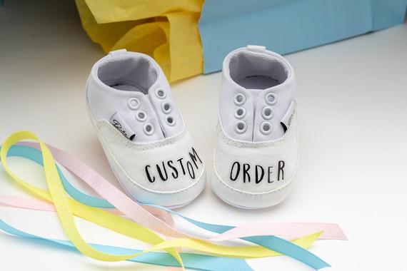 Custom Handpainted Baby Shoes Baby