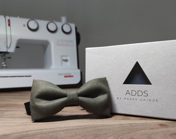 Men's Bow Tie / Brown Bow Tie / Accessory / Gift Idea / Gift for Him / Bow / Handmade Bow Tie / From Germany