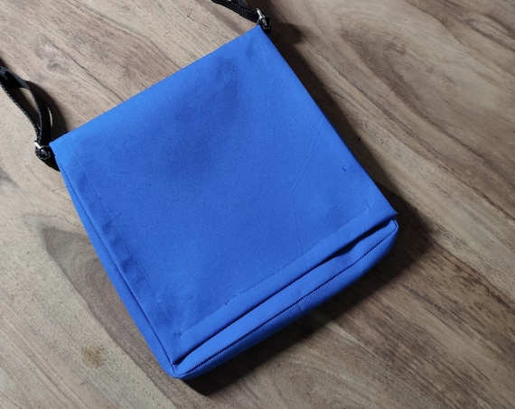 Handmade Sidebag with Phone Case / Blue / Handmade Sidebag