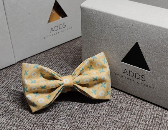 Fly, bow tie - Yellow