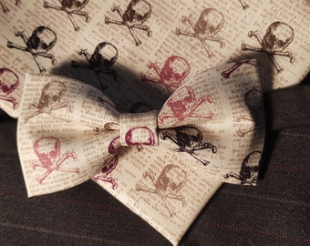 Set fly and shawl bow tie and Handkerchie