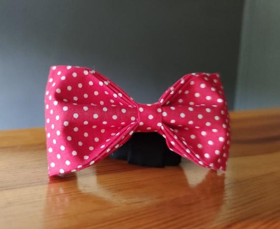 Bowtie / Red Bow Tie / Men's Accessory / Accessory / Men's Bow