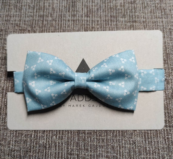 Bow tie - Green with pattern