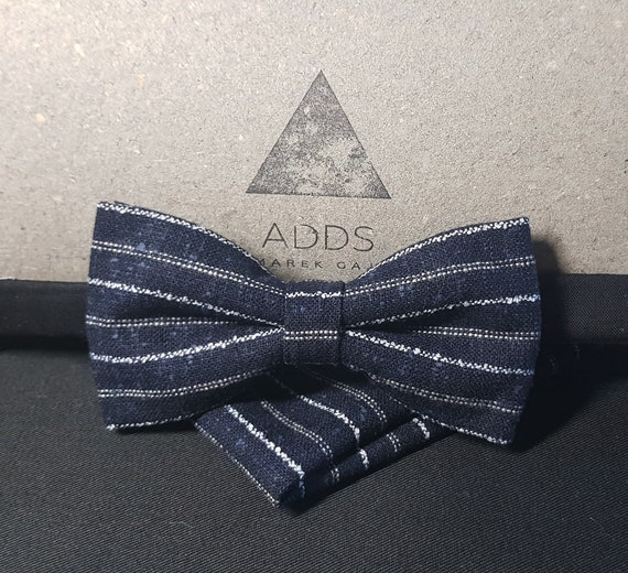 Set fly and shawl bow tie and handkerchief