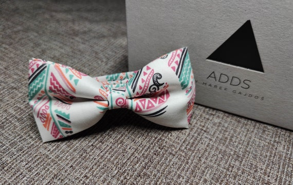 Bow / Accessory / Gift Idea / Gift for Him / Bow / Handmade Bow / From Germany / White
