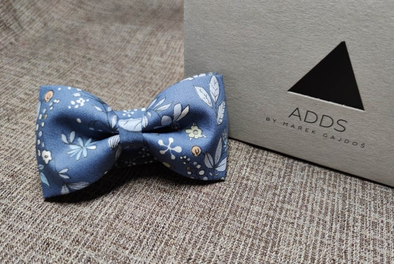 Bow / Accessory / Gift Idea / Gift for Him / Bow / Handmade Bow / From Germany / Blue