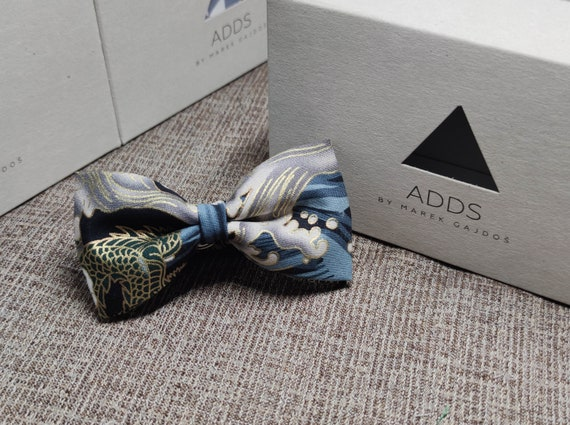 Fly, bow tie - Dark with gold