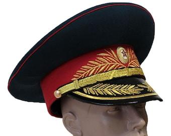 29138e088 Soviet military hat | Etsy