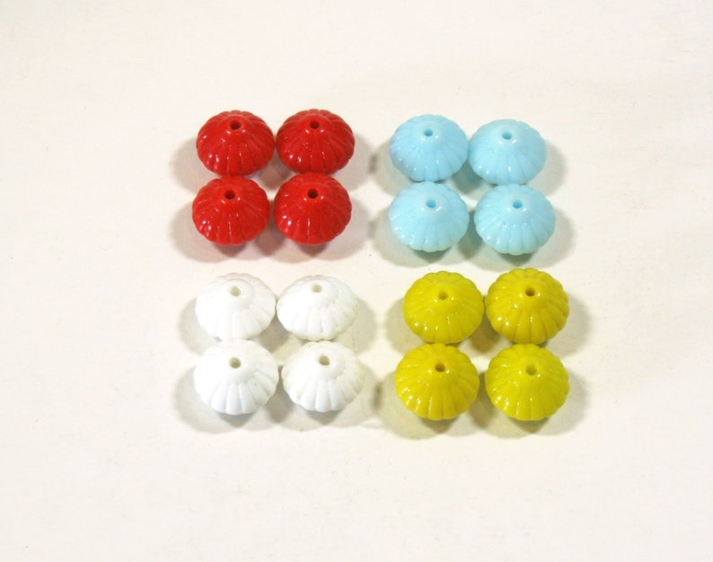 10X11mm HOLE THROUGH BACK  BUTTONS IN PEARLISED BLUE