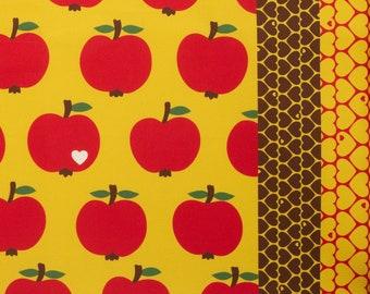 Waldbeeren,Berry weiß Stoff Baumwolle beschichtet B/&B Fabrics 140 cm Beeren