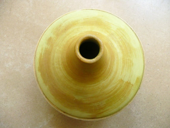 Vase En Terre Cuite Jarre En Terre Vase Jaune Cruche Vintage Pot En Terre Cuite Décoration Jardin