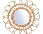 Boho Mirror Bast Wall Mirror Interior L
