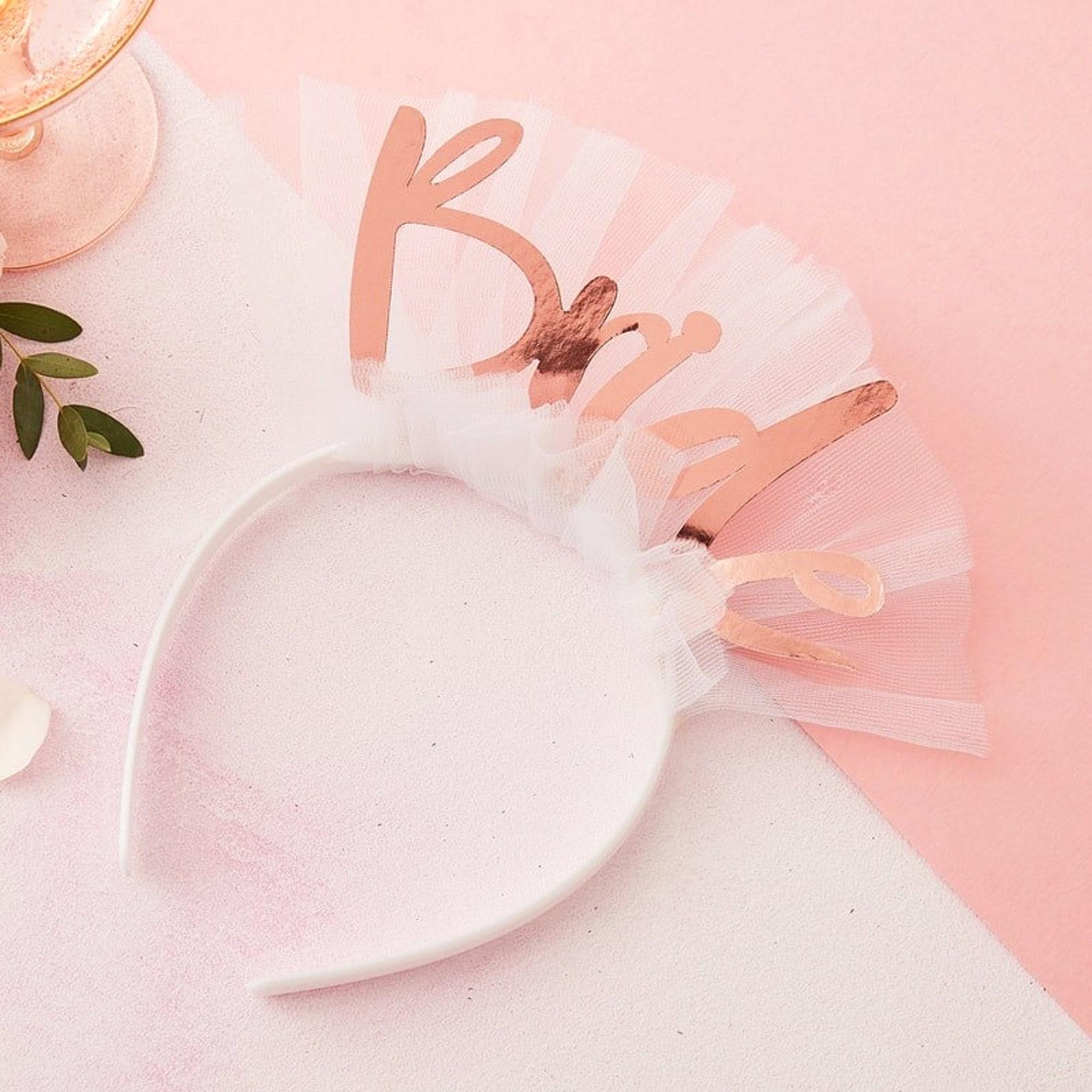 Bride Haarreifen für Junggesellinnenabschied