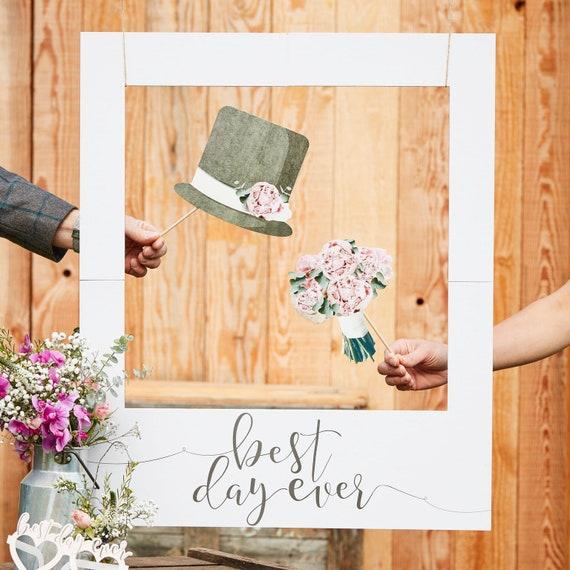 Polaroid Foto Accessoire Hochzeit Fotobox Bilder Etsy