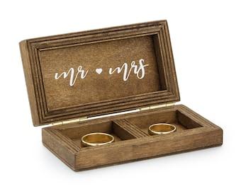 Ring Box Wedding Memory Box Wedding Rings Wooden Wedding Ceremony