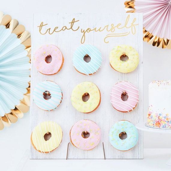 Donut Wand Party Deko Hochzeit Candy Bar Etsy