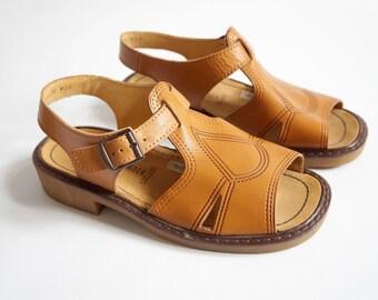 96e235ce84b New 70s Sandals 36 Salamander Retro Summer