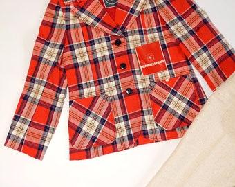 NEW 70s suit jacket (122) 128 pants wool silk linen wedding festive jacket pants Waldorf ReTRo OLJooL