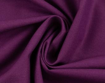 Purple Cotton Woven Cotton Fabric Purple
