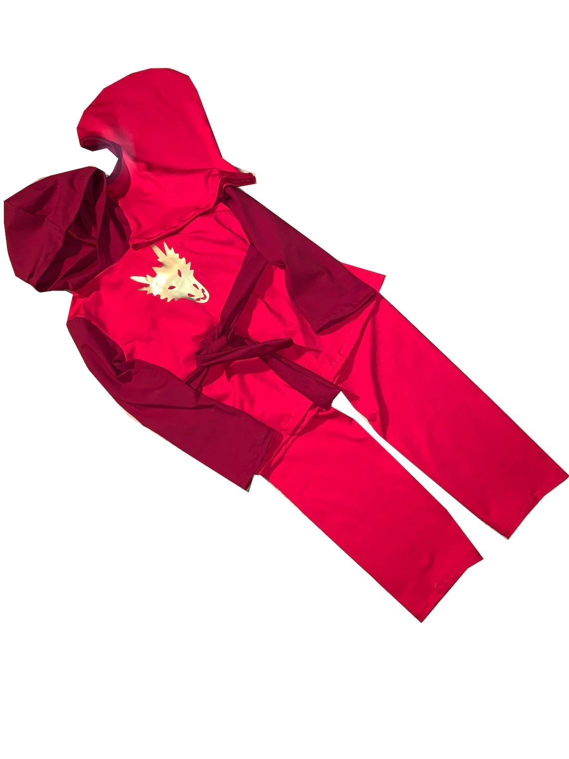 NINJA Fighter : Camisa Storm Hood Pantalones Cinturón ...