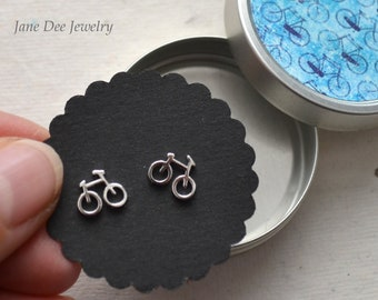 Studs Bicycles Blue Can