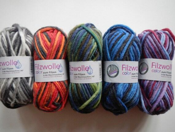 Filzwolle color Gruendl 2,15 €