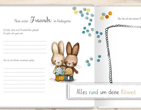 Kindergartenalbum Geschenk Kindergarten Kindergarten Album