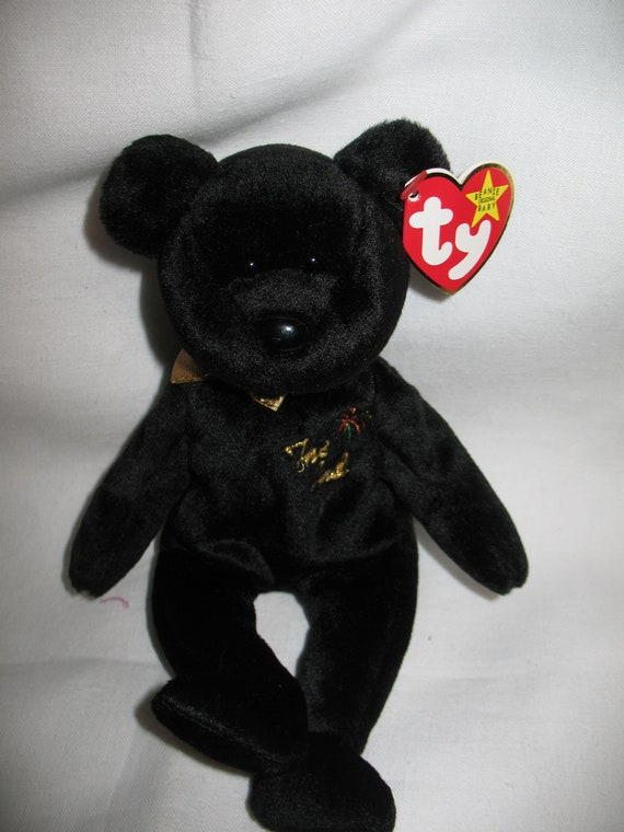 6732855010e Ty THE ENDRARE Beanie Baby Bear. Multiple Swing