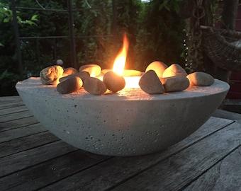 Fire bowl Midsommar concrete