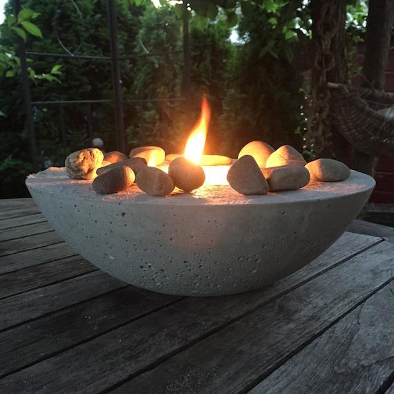 Feuerschale Midsommar Beton
