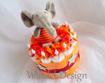Windeltorte Elefant Etsy