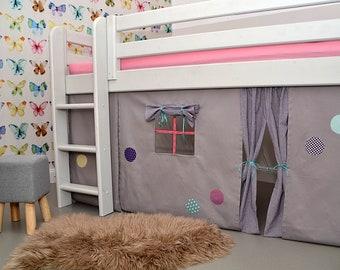 Hausbett Etagenbett : Kleinkind bett spielen haus rahmen kinder etagenbett etsy
