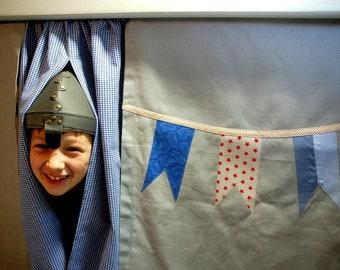 Vorhang Etagenbett Selber Nähen : Vorhang fuer hochbett etsy