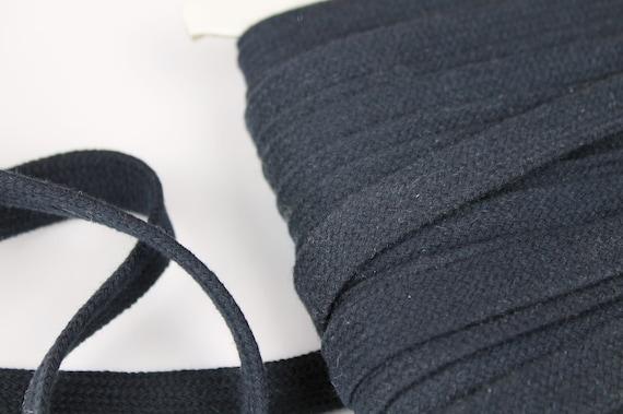 3m Hoodieband marine 17mm Breite, Kordel marine, Kordel dunkelblau, Band dunkelblau, Flachkordel dunkelblau, Hoodieband dunkelblau