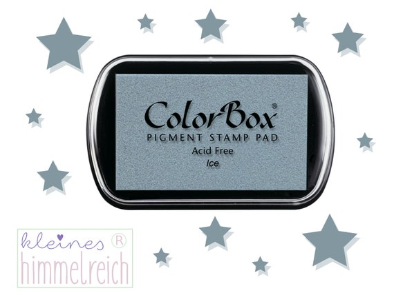 Color Box Pigment Stamp Cushion Ice