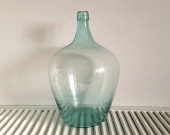 SchöN Alter Weinballon Gärballon Glasflasche 5 Liter Alte Berufe